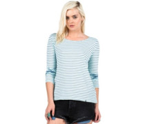 Lived In Stripe T-Shirt LS navy