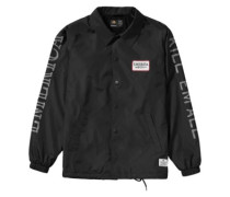 Kill Em Coach Jacket black