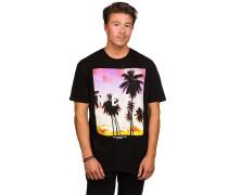 Quad Sunset T-Shirt schwarz