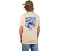 Misguided Trip T-Shirt cream