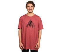 Matterhorn Slim T-Shirt rot