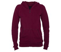 Walker Fleece Kapuzenjacke pink