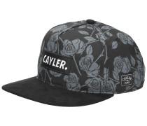 WL Statement Black Roses Snapback Cap mc