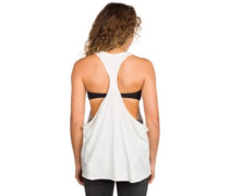 Savage Festival Racer Tank Top off white