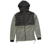Transition Fleece Jacket black heather