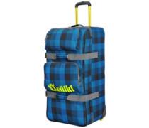 Free Wheel Travelbag 120L denim check