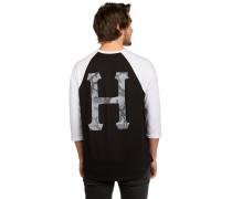 Street Ops Classic H Raglan T-Shirt schwarz