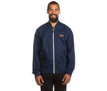 Barwell Bomber Jacket washed indigo