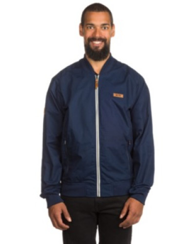 Barwell Bomber Jacket washed indigo