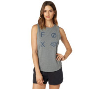 Staged Muscle Tank Top heather graphite