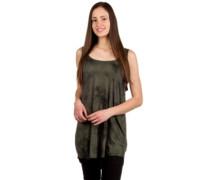 Katina Dress olive tie dye