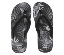 All Day Impact Print Sandals black floral