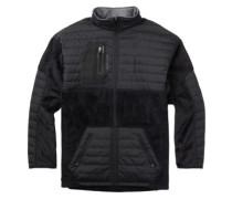 Backside Fleece Jacket true black