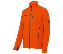 Climb Softshell Jacke orange