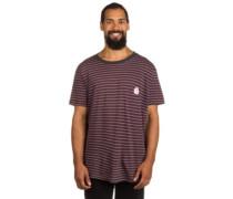 Barry Stripe T-Shirt pirate black