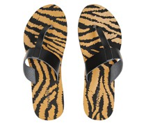 Venice Ditsy Sandals brown