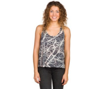 Land Tank Top black nest print