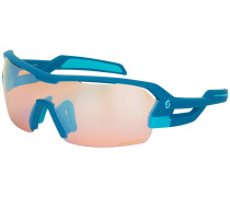 Spur Blue Matt Sonnenbrille blau