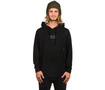 JLA Hoodiever Fleece Kapuzenpullover schwarz