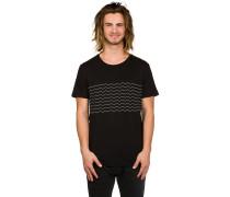Wavy T-Shirt schwarz