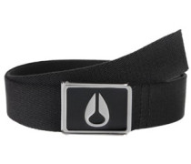Enamel Wings Belt black