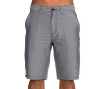 Oxford Shorts schwarz