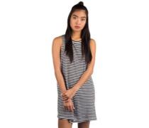 Shiny Dress bright white basic stripe