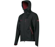 Ultimate Softshell Jacke schwarz
