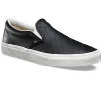 Leather Classic Slip-On Slippers (leather perf) black