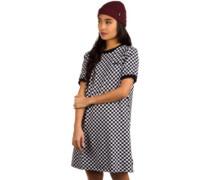High Roller Print Dress checkerboard