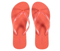 Wedge Sandals Women fluoro peach