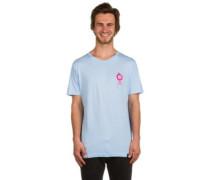 X Pink Panther Pin Ball T-Shirt washed lt blue