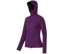 Ultimate Hooded Outdoorjacke violett