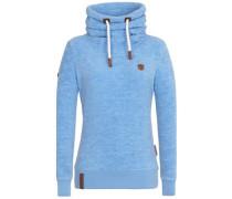 Versehentlich Reingesteckt Hoodie Jacket sky blue melange