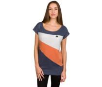 Herbert IX T-Shirt bluegrey melange