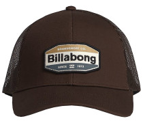 Walled Trucker Cap brown