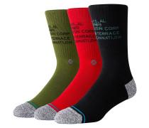 Corp 3 Of A Kind Socks