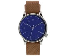Winston Uhr blau