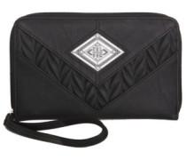 Heat Wave Zip Wallet black