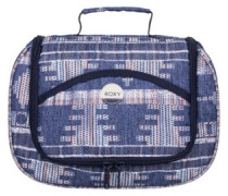 Sunset Vanity Bag akiya combo blue print