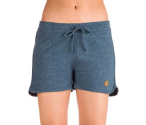 Chinatown Girl Shorts blue melange