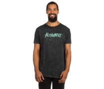 One Liner Wash T-Shirt black