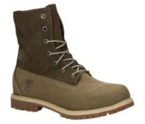 Authentics Teddy Fleecer Waterproof Fold-Down Shoes taupe nubuck