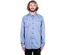 Glade Shirt LS dark chambray