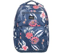Here You Are Printed Backpack
