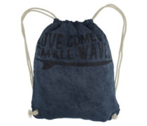 BT Love Comes Stonewash Sweater Gym Bag blue