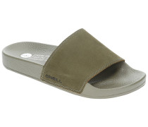Nubuck Sandals olive