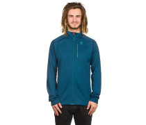 Defined Tech Fleecejacke blau