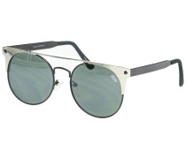 The In Crowd Black/Silver Sonnenbrille schwarz