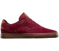 The Reynolds Low Vulc Skateschuhe rot
